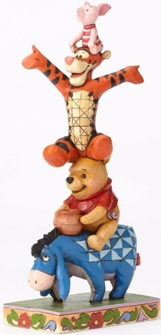 Disney Traditions by Jim Shore 4055413 Eeyore Pooh and Piglet