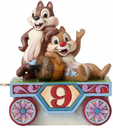 Jim Shore Disney 4055419 Chip and Dale Train - 9