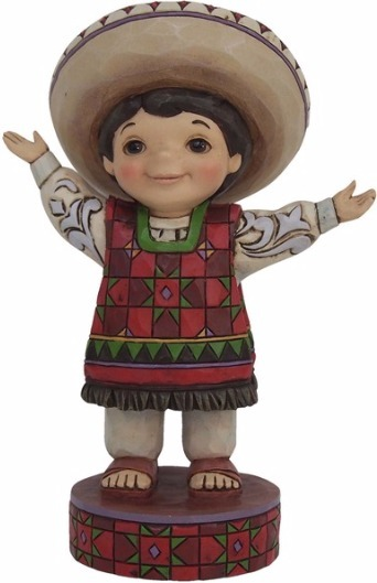 Jim Shore Disney 4055421 Small World Mexico