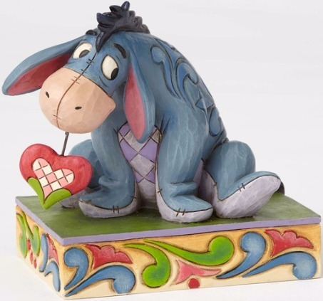 Jim Shore Disney 4055437 Eeyore Love PP