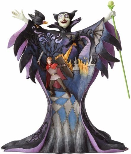 Jim Shore Disney 4055439 Maleficent with Scene