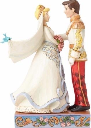 Jim Shore Disney 4056748 Cinderella and Prince