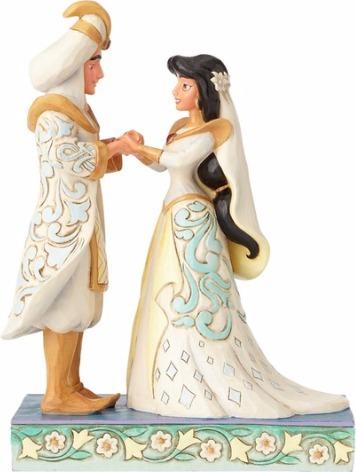 Disney Traditions by Jim Shore 4056750 Jasmine and Aladdin