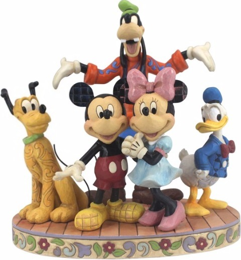Jim Shore Disney 4056752 Fab Five