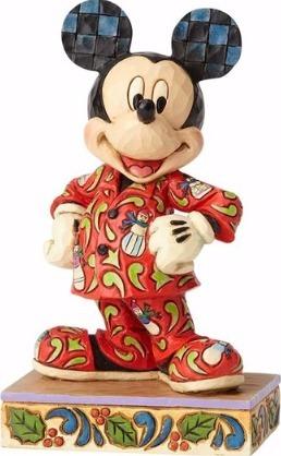 Jim Shore Disney 4057935 Mickey in Christmas Pajamas