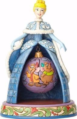 Jim Shore Disney 4057945 Cinderella Christmas