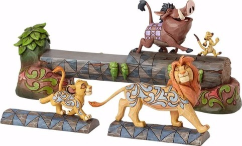 Jim Shore Disney 4057955 Simba Timon and Pumbaa