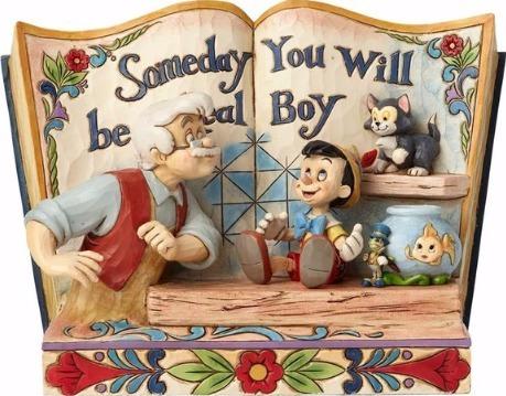 Jim Shore Disney 4057957 Pinocchio Storybook