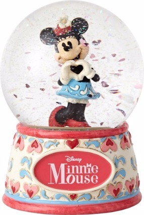 Jim Shore Disney 4059187 Sweetheart Minnie Waterball