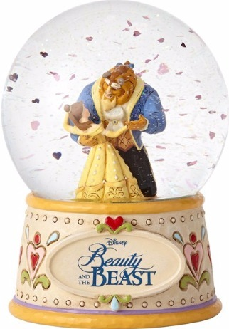 Jim Shore Disney 4059189 Beauty and the Beast Wat