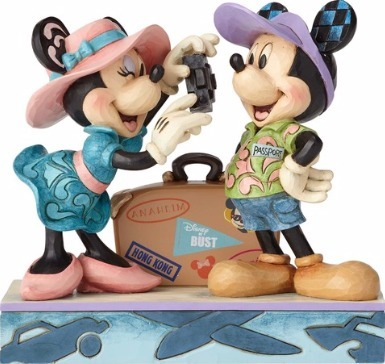 Jim Shore Disney 4059731 Travel Mickey and Minnie