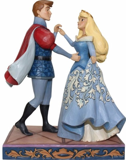 Jim Shore Disney 4059733 Aurora and Prince Dancin