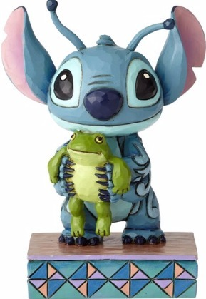 Disney Traditions by Jim Shore 4059741 Stitch with Frog Persona