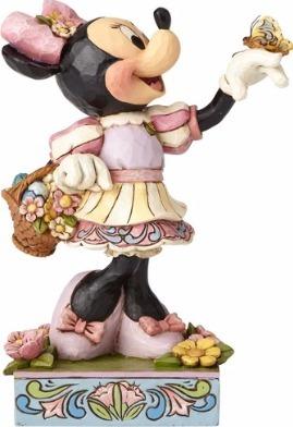 Jim Shore Disney 4059743 Easter Minnie
