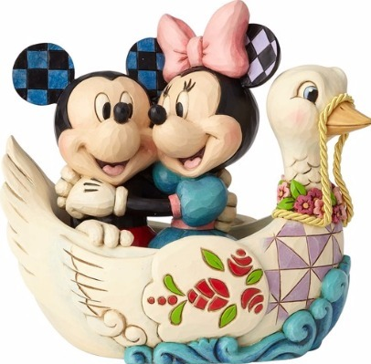 Jim Shore Disney 4059744 Mickey and Minnie in Swa