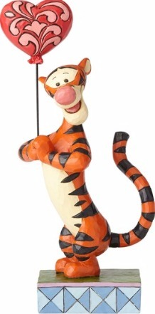 Jim Shore Disney 4059747 Tigger with Heart Balloon