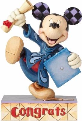 Jim Shore Disney 4059749 Graduation Mickey