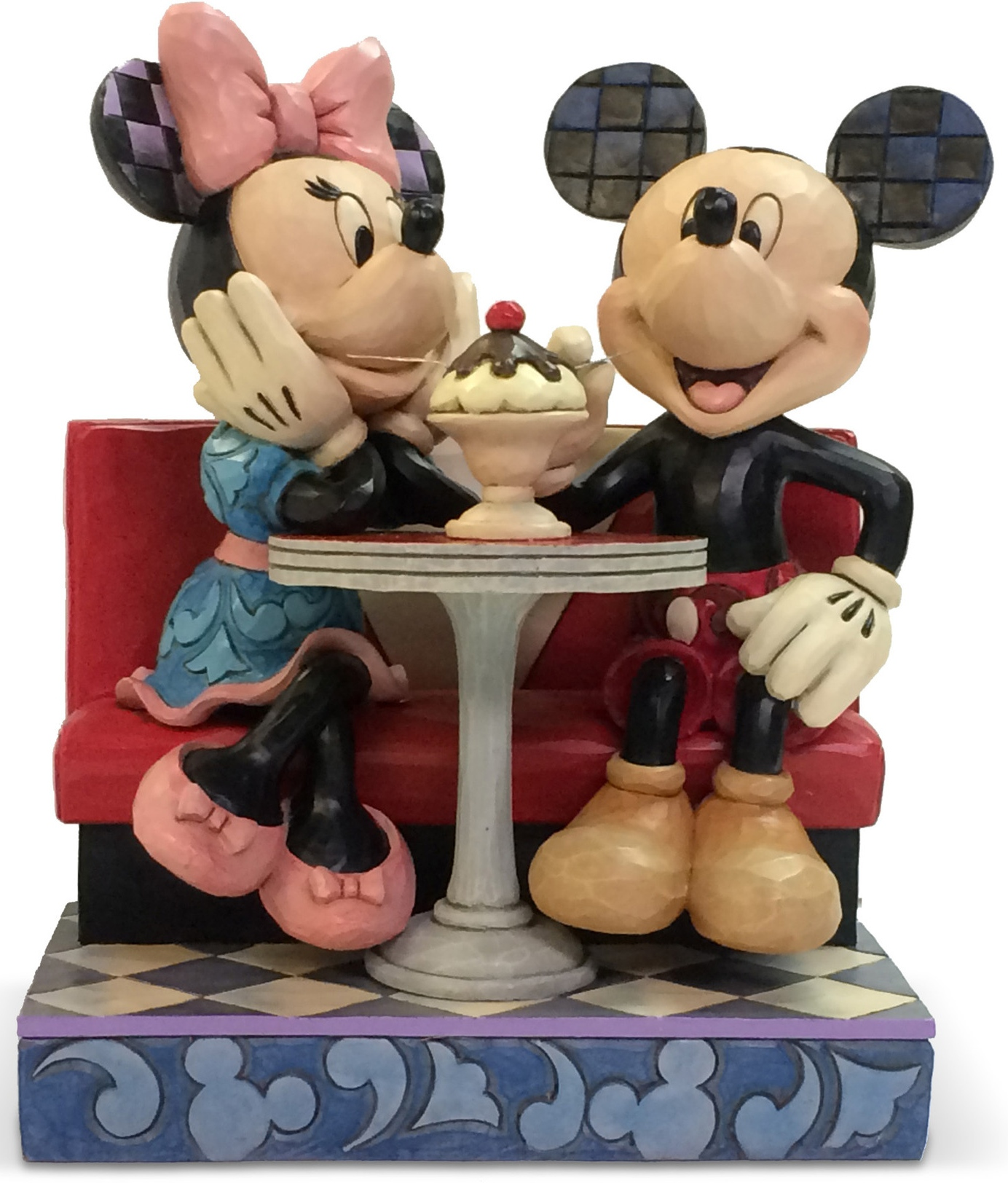 Jim Shore Disney 4059751 Soda Fountain Mickey Figurine