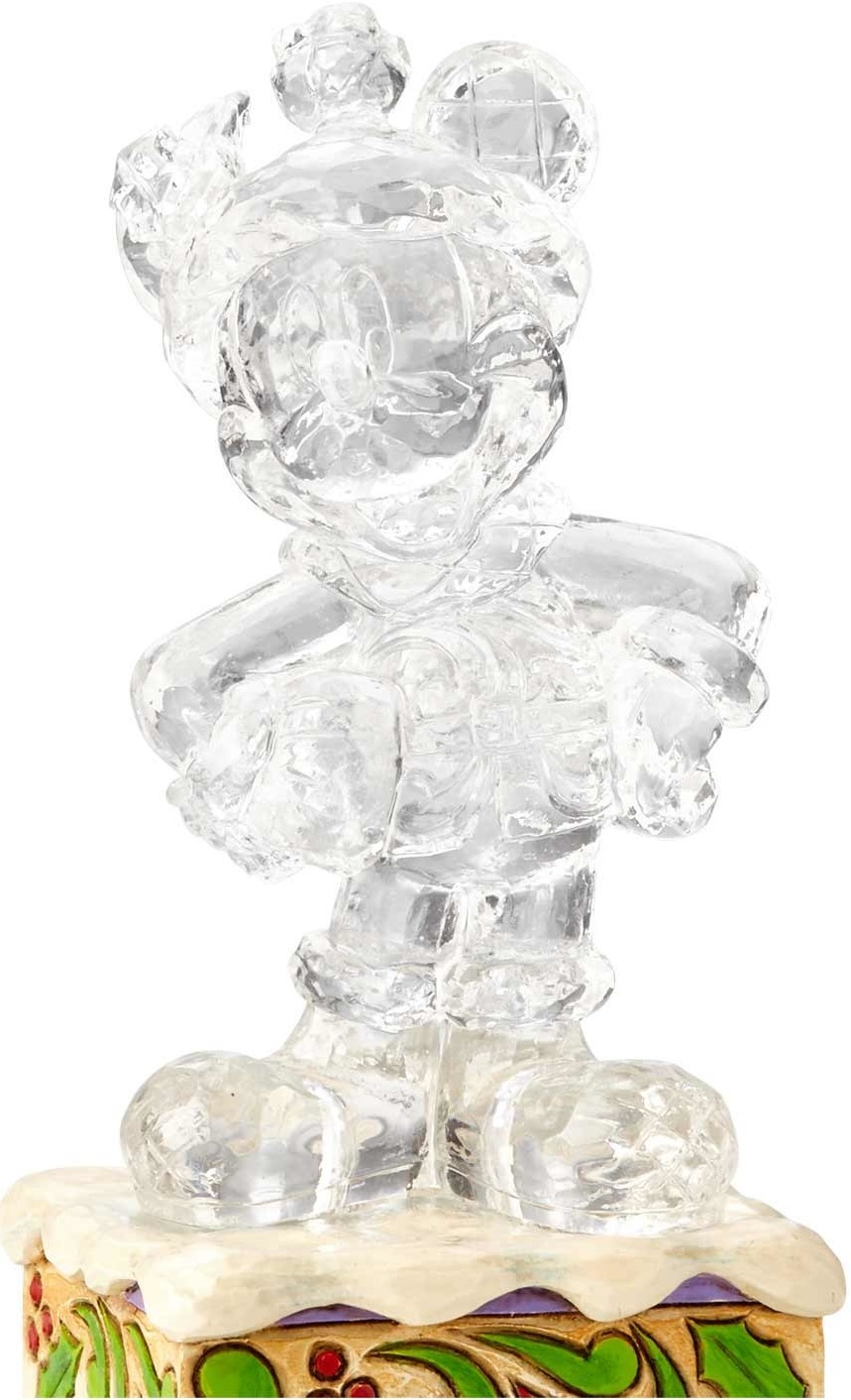 Jim Shore Disney 4059924 Clear Christmas Mickey