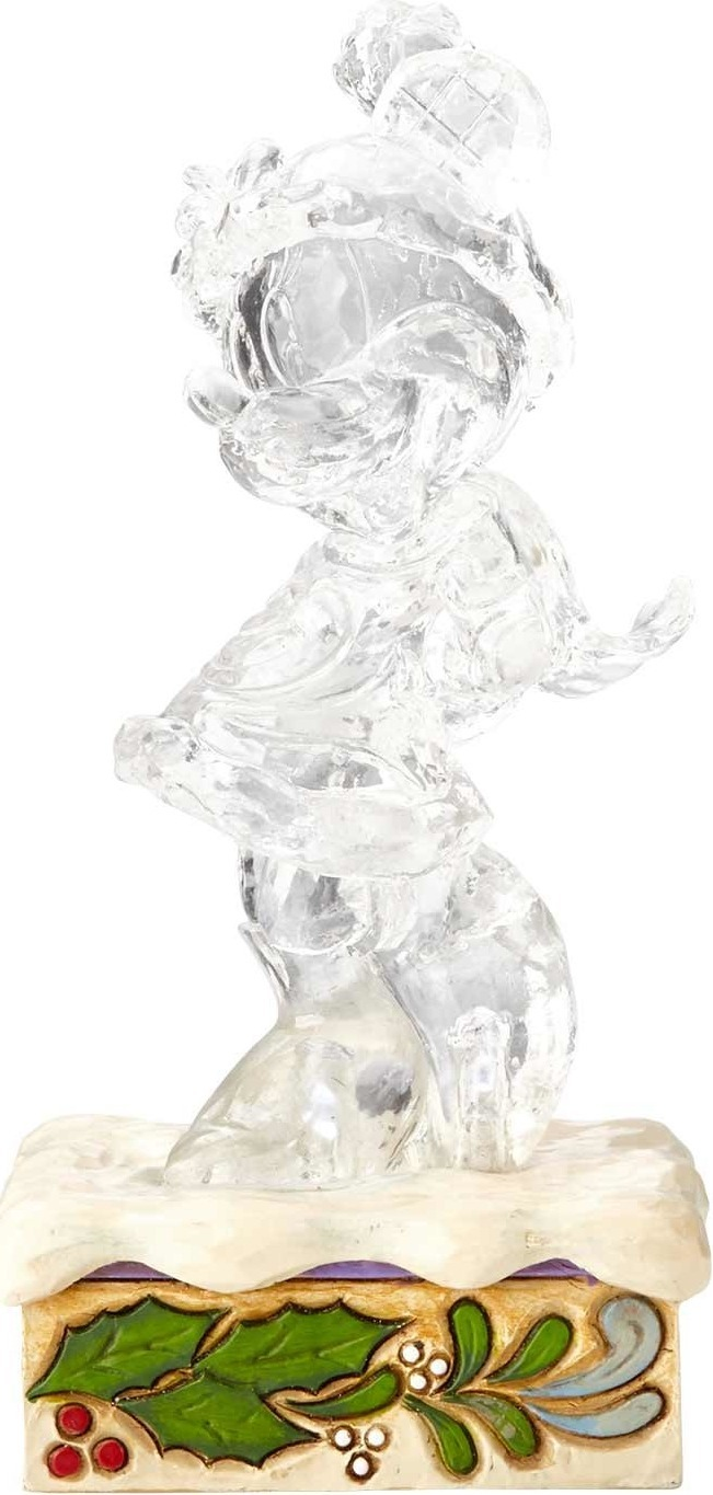 Jim Shore Disney 4059925 Clear Christmas Minnie