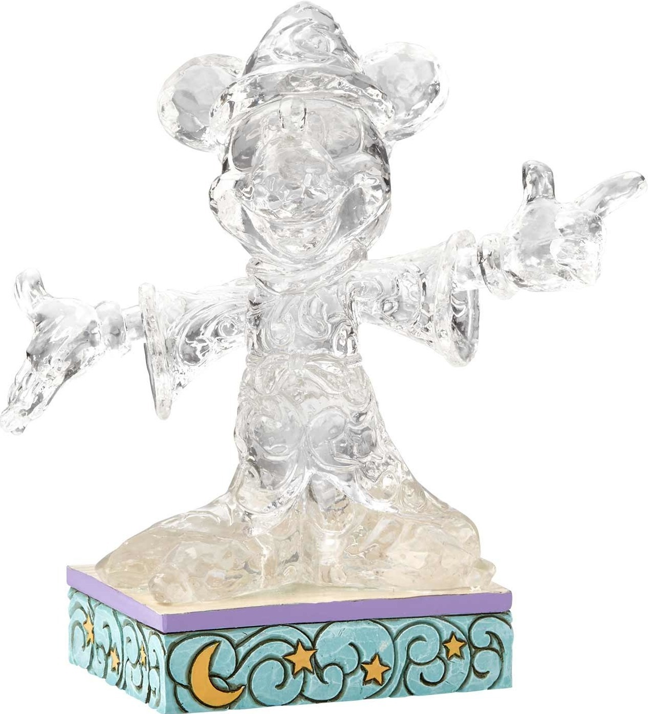 Jim Shore Disney 4059926 Clear Sorcerer Mickey