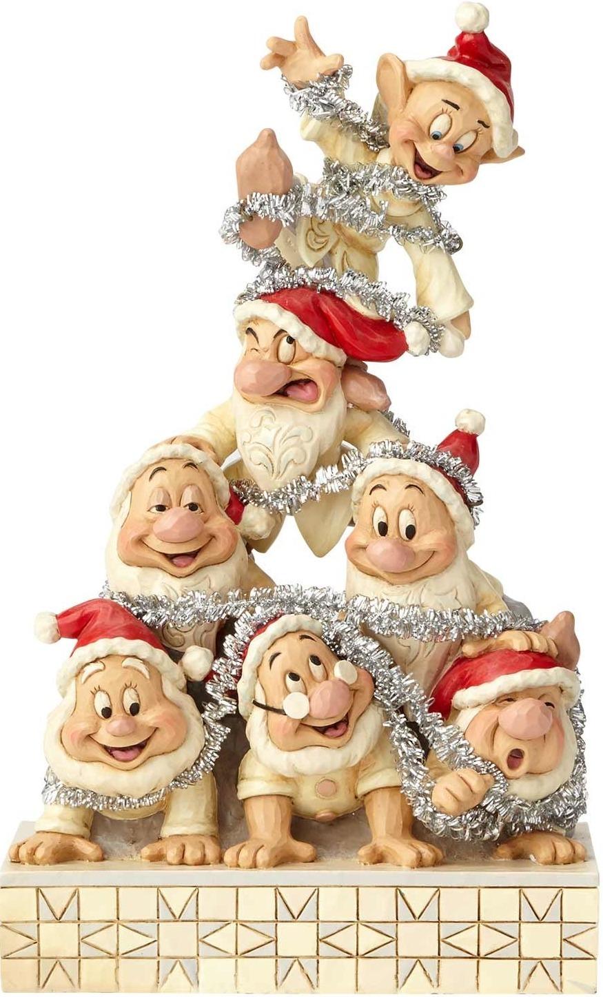 Jim Shore Disney 6000942 Seven Dwarfs White Wonderland