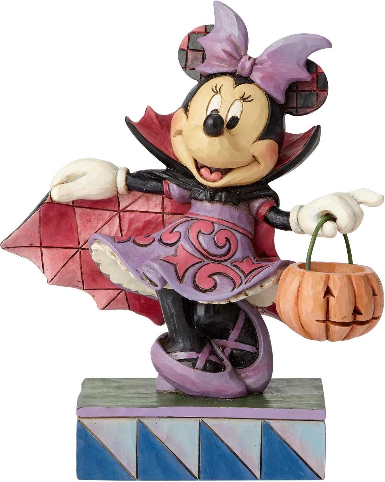 Disney Traditions by Jim Shore 6000949 Vampire Minnie (Purple)