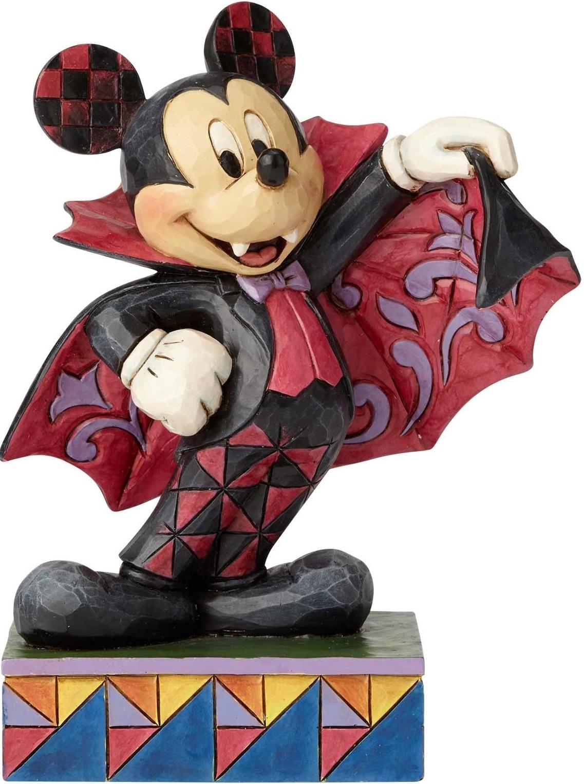 Disney Traditions by Jim Shore 6000950 Halloween Mickey Purple