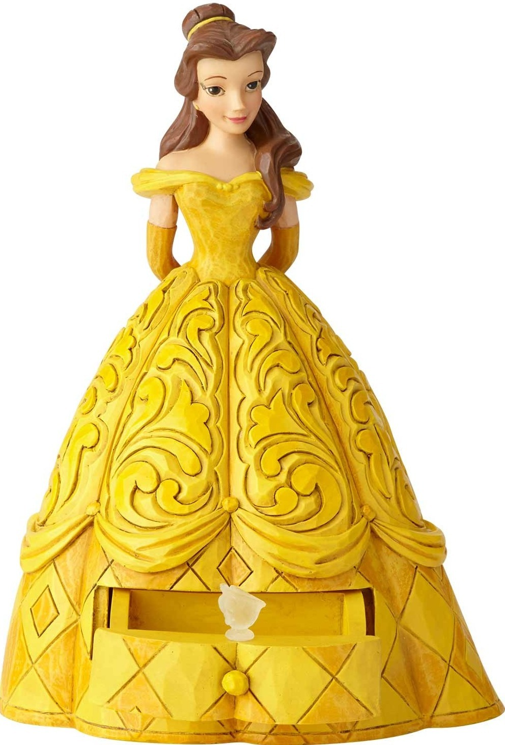 Disney Traditions by Jim Shore 6000963 Belle with Clear Charm