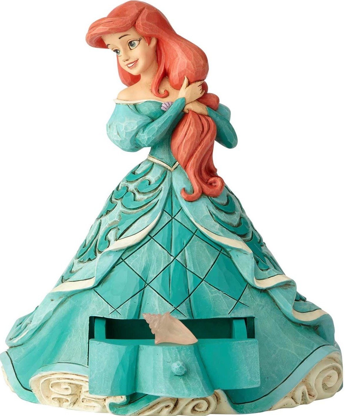Disney Traditions by Jim Shore 6000965 Ariel with Clear Charm
