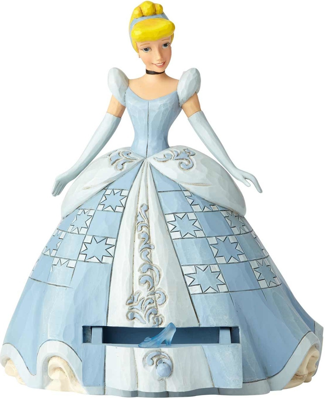Jim Shore Disney 6000966 Cinderella with Clear Ch