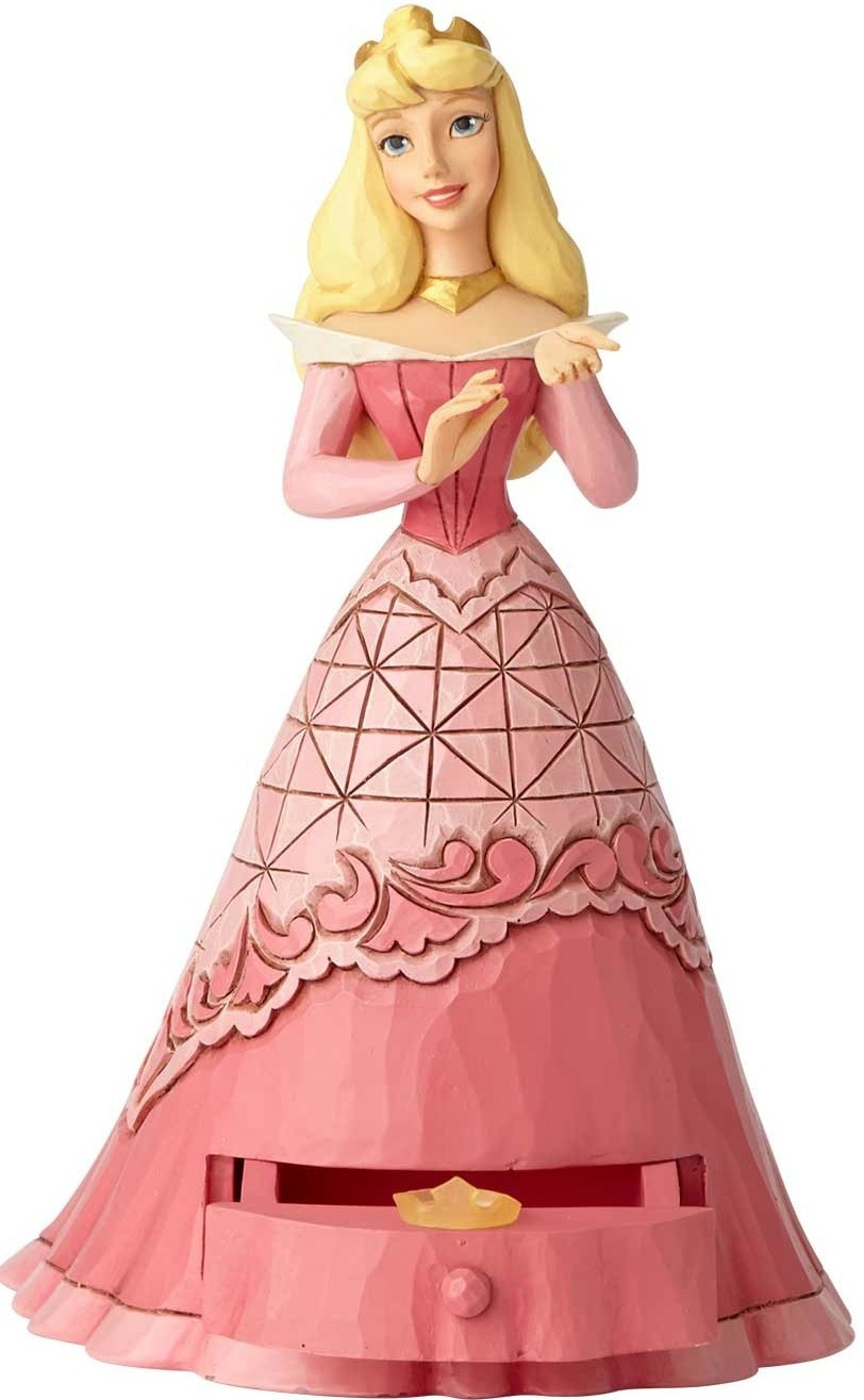 Jim Shore Disney 6000967 Sleeping Beauty Aurora with Cle