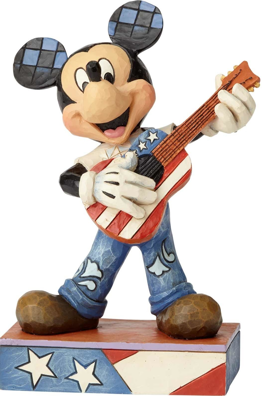 Jim Shore Disney 6000968 Rock & Roll Mickey