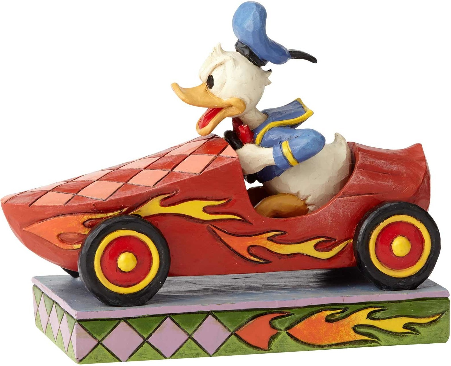 Special Sale 6000975 Disney Traditions 6000975 Soap Box Derby Donald Duck by Jim Shore