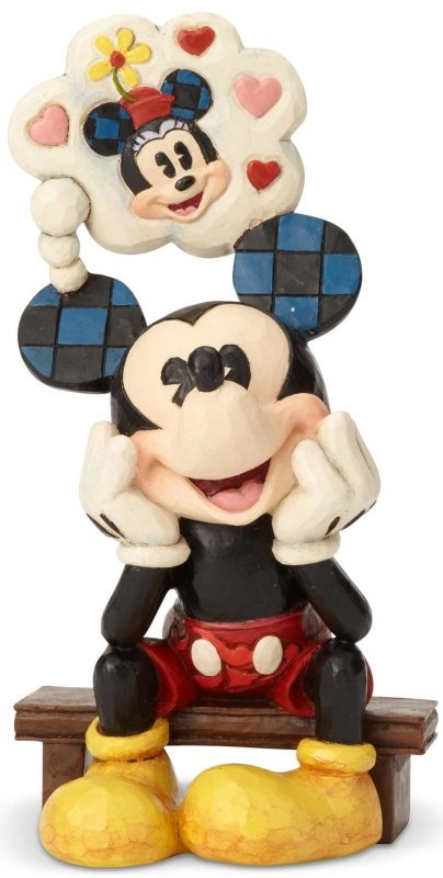 Jim Shore Disney 6001281 Mickey with Heart Shaped