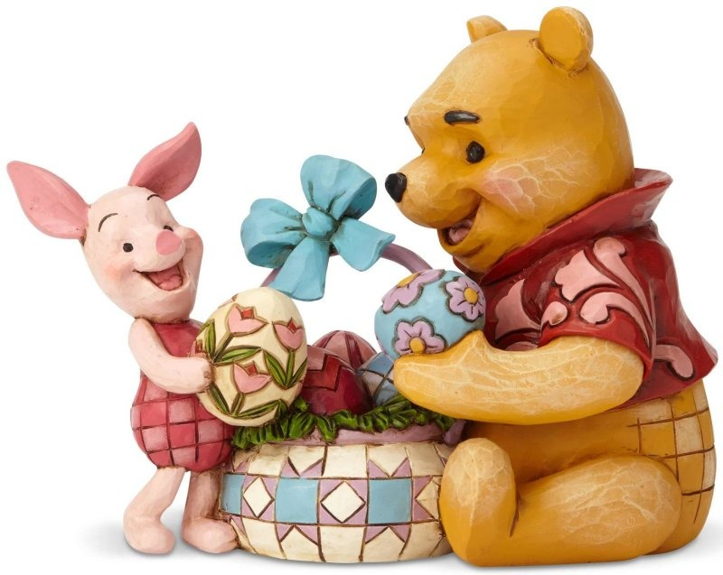 Disney Traditions by Jim Shore 6001283 Pooh and Piglet Easter