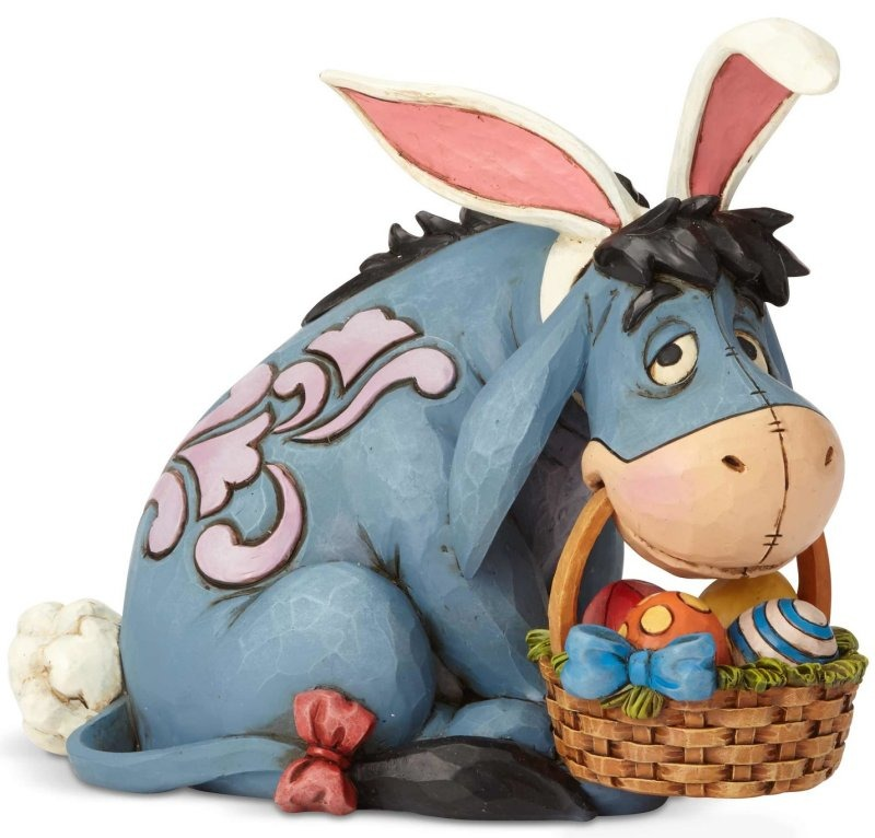 Disney Traditions by Jim Shore 6001284 Eeyore as Easter Bunny