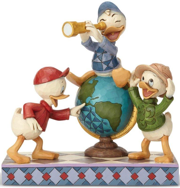 Jim Shore Disney 6001286 Huey Dewie and Louie Duck