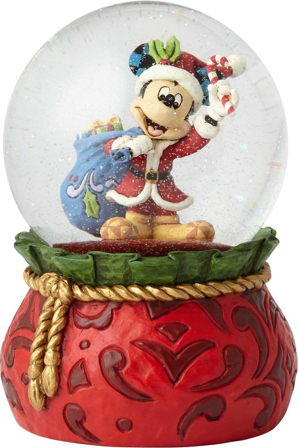 Disney Traditions by Jim Shore 6001360 Santa Mickey Waterball