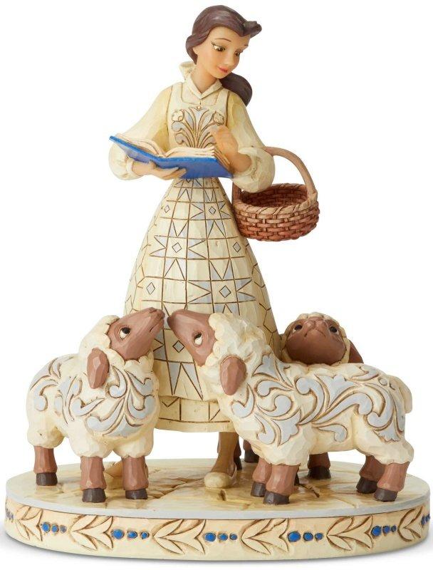 Jim Shore Disney 6002338 Belle with Sheep