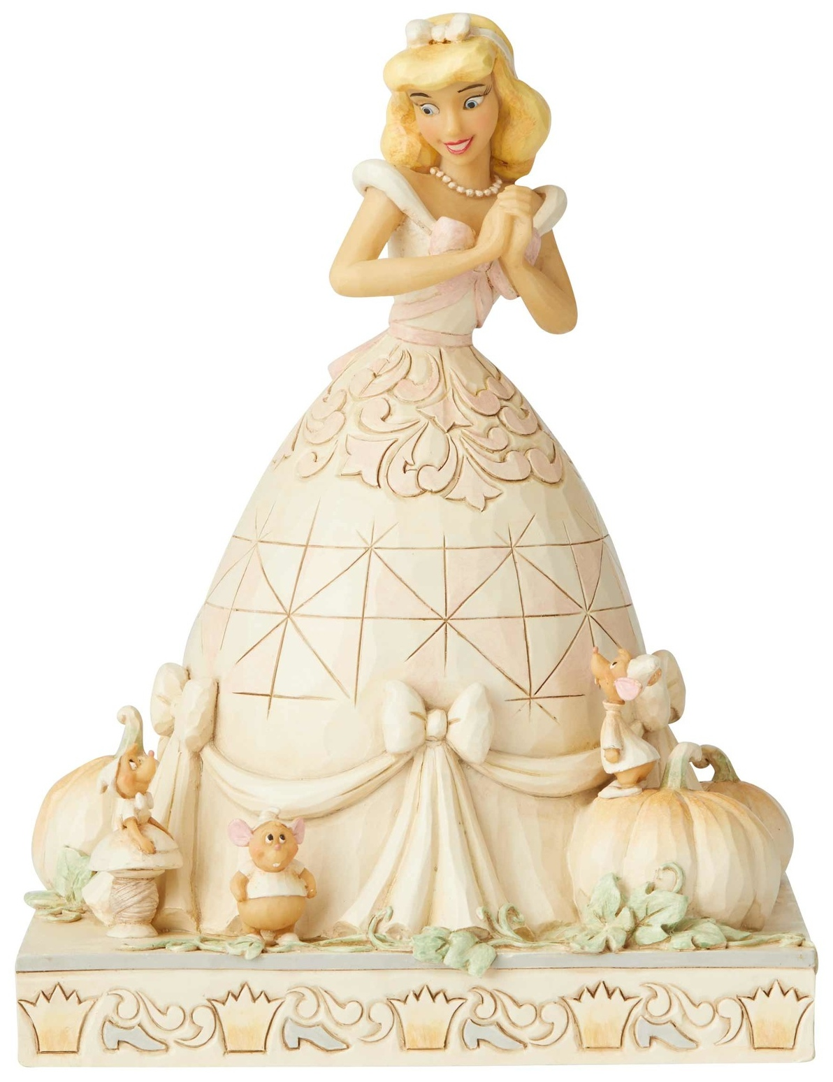 Disney Traditions by Jim Shore 6002816 White Woodland Cinderella