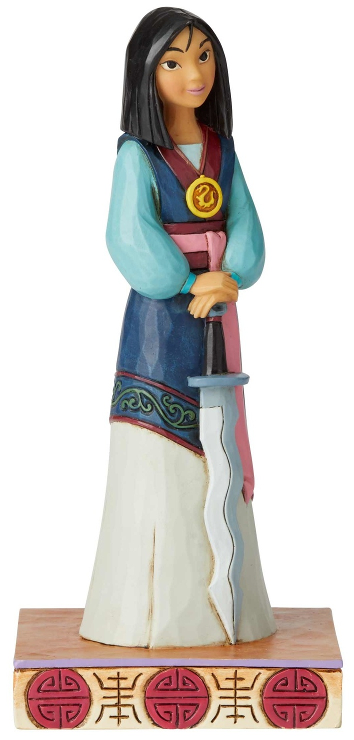 Jim Shore Disney 6002823 Princess Passion Mulan