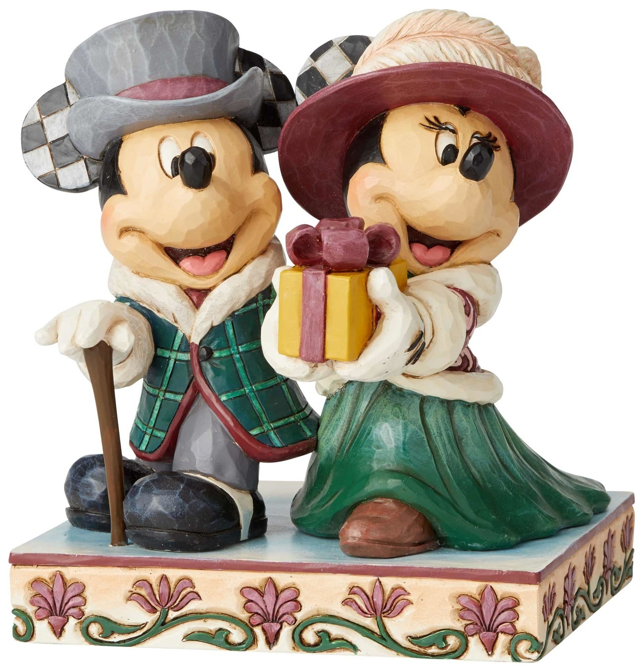 Jim Shore Disney 6002829 Mickey and Minnie Victorian