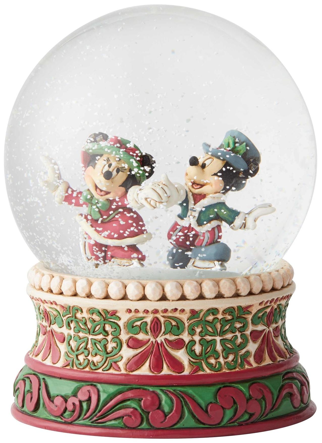 Disney Traditions by Jim Shore 6002832 Skating Waterball