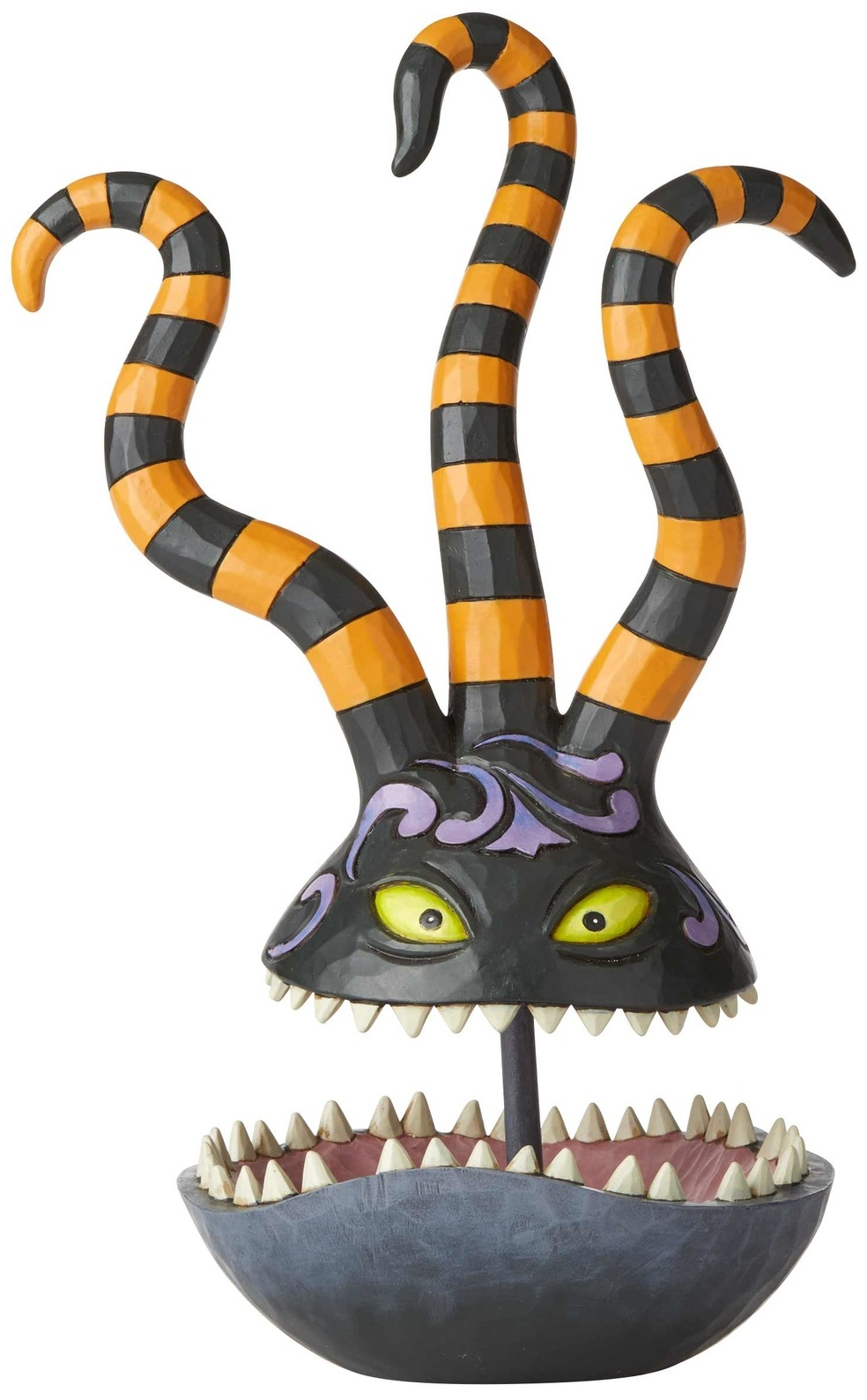 Jim Shore Disney 6002838 Harlequin Demon Trinket