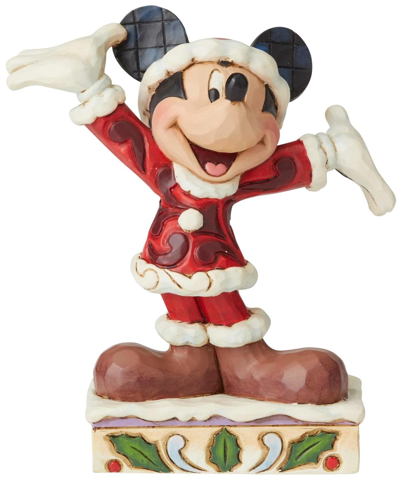 Jim Shore Disney 6002842 Mickey Christmas PP