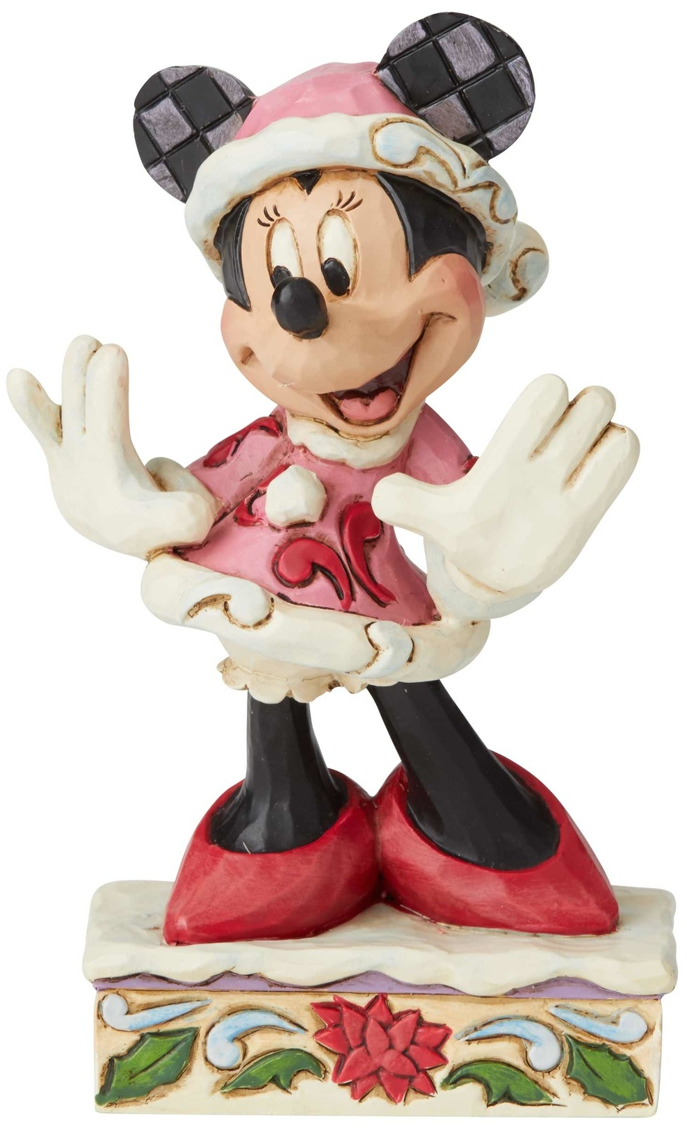 Jim Shore Disney 6002843 Minnie Christmas PP