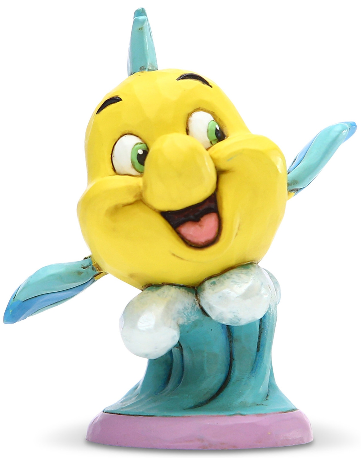 Disney Traditions by Jim Shore 6005955N Flounder Personality Pose Figurine