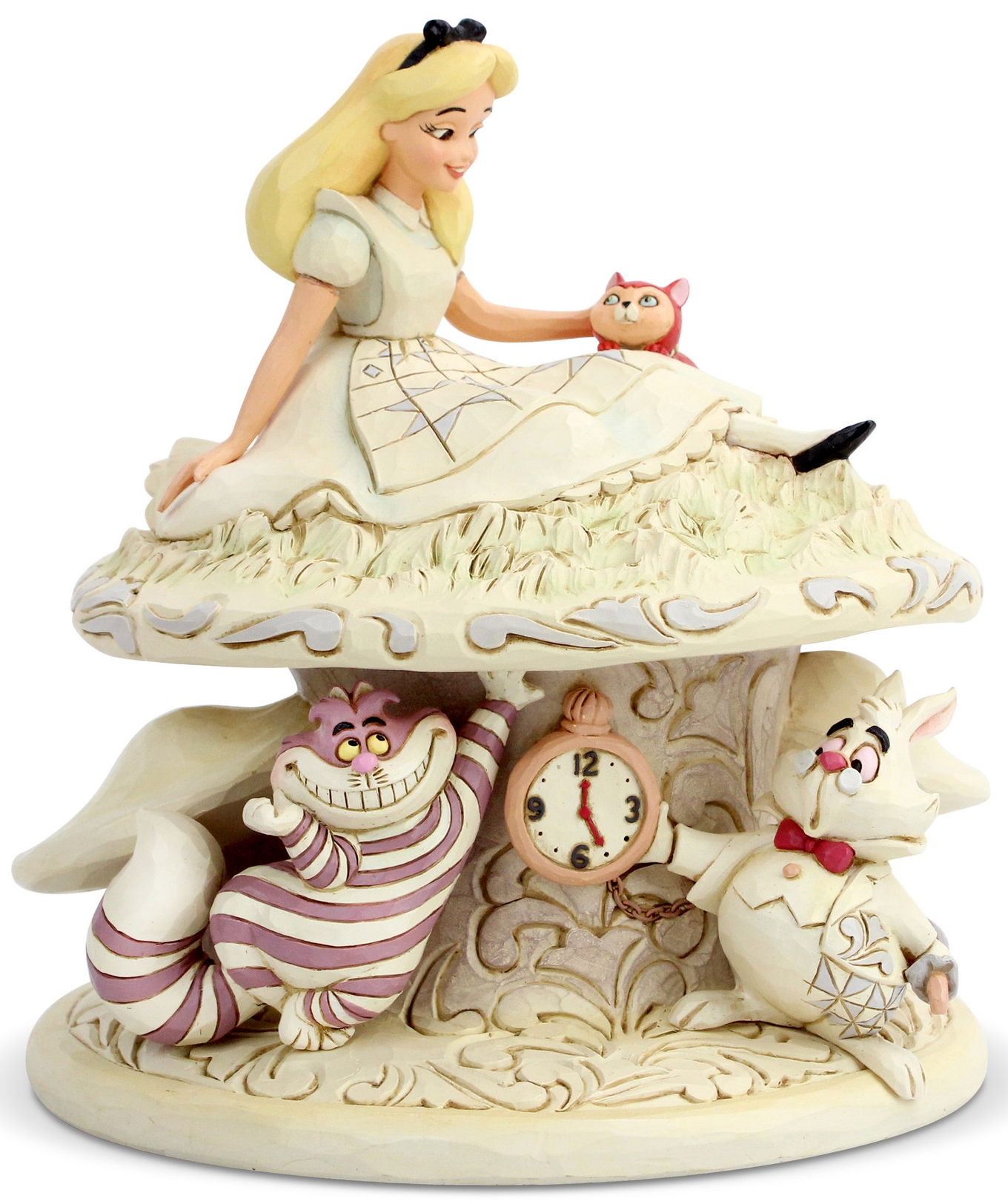 Jim Shore Disney 6005957N Alice White Woodland Figurine