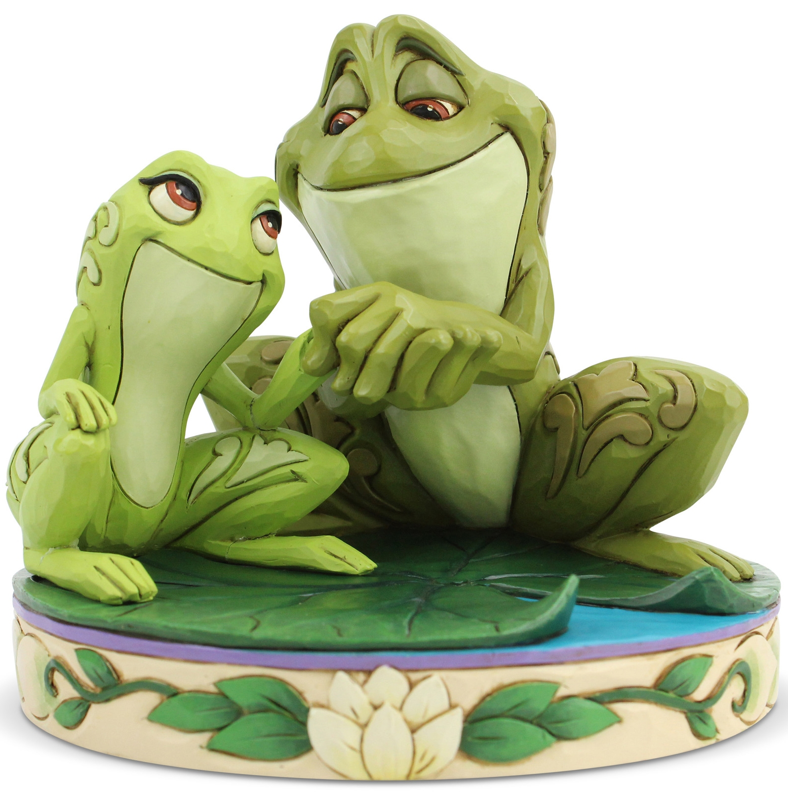 Disney Traditions by Jim Shore 6005960N Tiana and Naveen as Frog Figurine